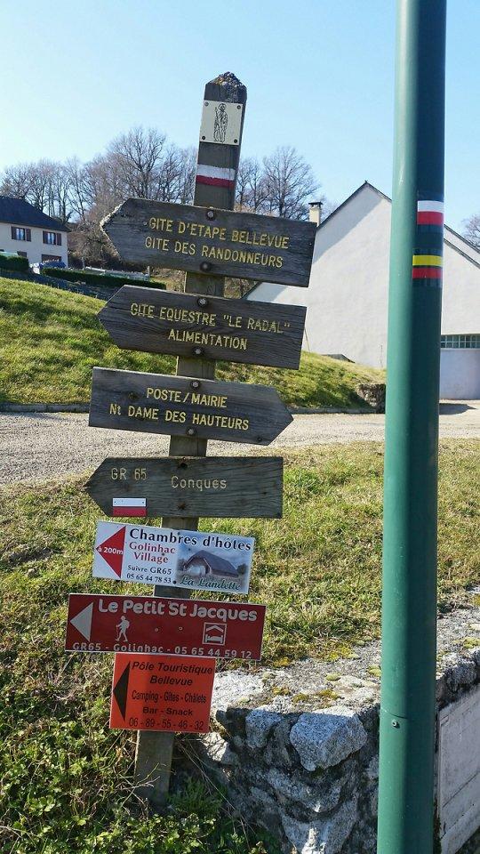 Sur le chemin des pélerins de St Jacques