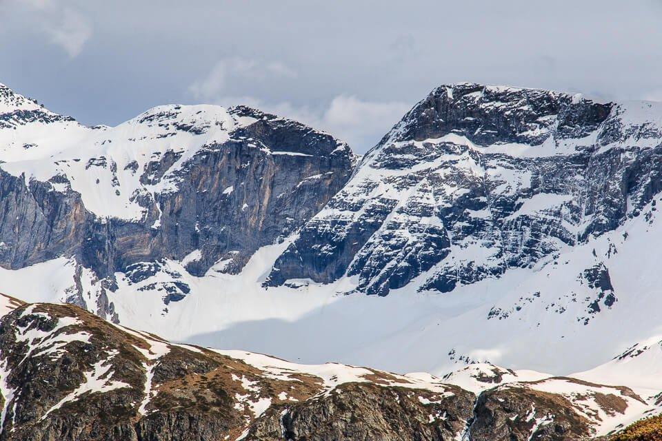 Mont Arrouy (2888m) et Pène Blanque (2905m)