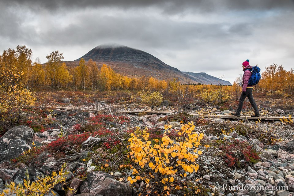 Randonnée depuis Nikkaluokta en Suède