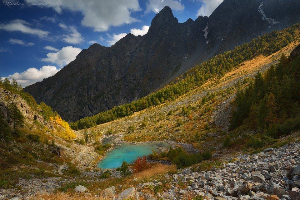 Le lac de la Douche