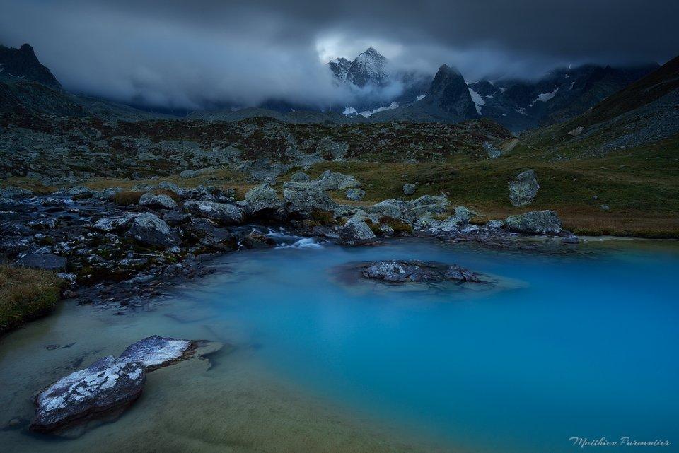 Même à la tombée de la nuit les couleurs sont magnifiques