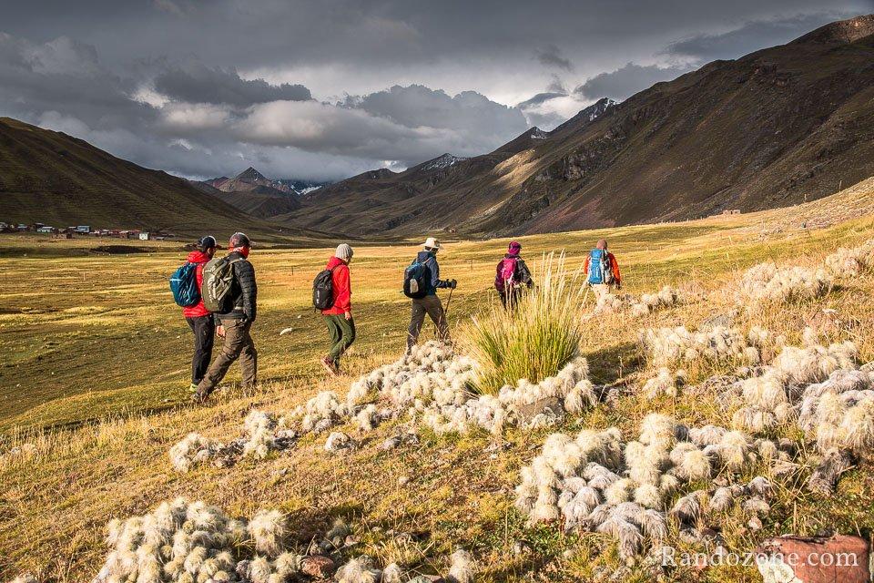 Nous arrivons au refuge Chillca au Pérou
