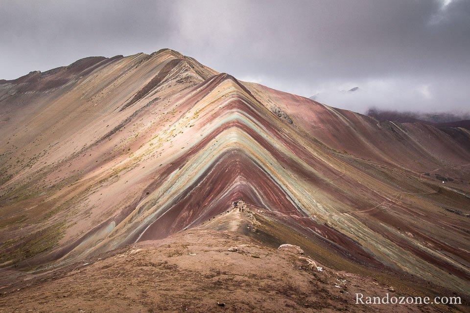 Vinicunca la montagne aux sept couleurs