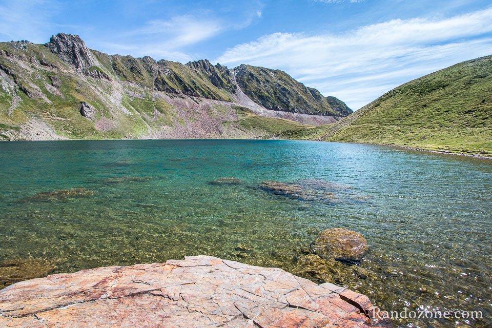 Superbes couleurs du lac d'Oncet