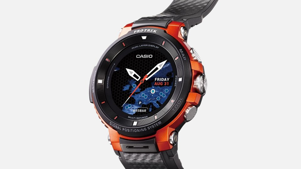 Montre connectée Casio Protrek F30