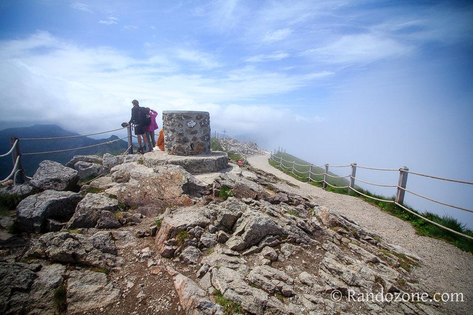 Au sommet du Puy Mary