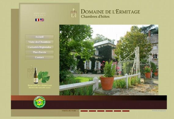 Chambres d 39 h tes domaine de l 39 ermitage berry bouy laurence et g raud de la farge chambres - Menetou salon domaine de l ermitage ...