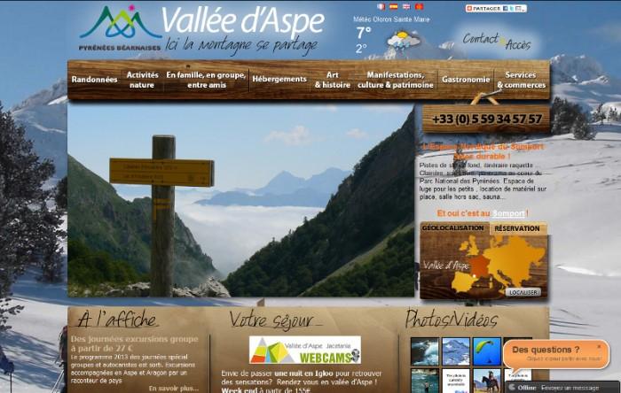Office de tourisme de la vall e d 39 aspe office de tourisme - Office de tourisme pyrenees atlantiques ...
